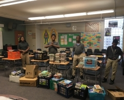 Camelot Teacher Overwhelmed by Response to Book Drive