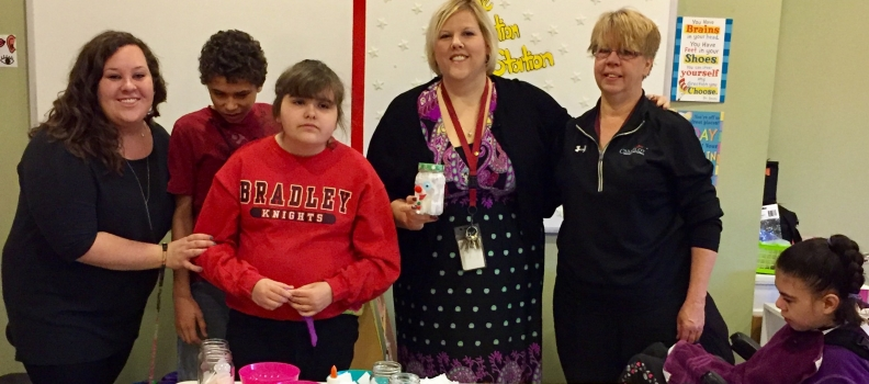 Camelot TDS Kids Learn to Give Back at Holiday Time