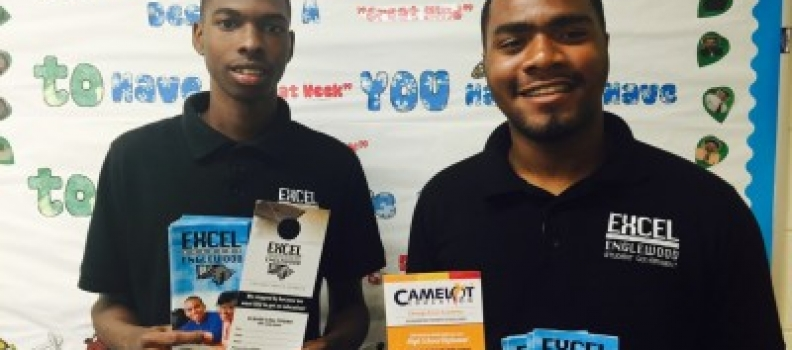 Camelot Excel Students Featured in WVON's 'Getting Back on Track' Radio Show
